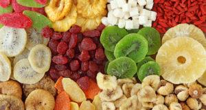 reine des graines fruits deshydratés